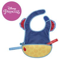 Disney - Snow White travel bib + flexible spoon (selected regions only) - b.box for kids