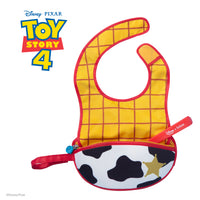 Disney - Woody travel bib + flexible spoon (selected regions only) - b.box for kids