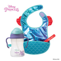Disney - Ariel sippy cup and travel bib + spoon bundle (selected regions only)