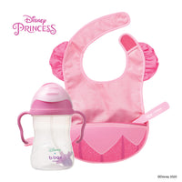 Disney - Aurora sippy cup and travel bib + spoon (selected regions only)