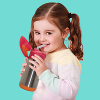 insulated drink bottle - lemon sherbet - b.box for kids