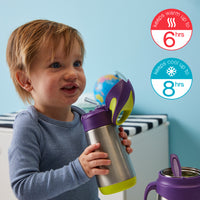 insulated drink bottle - passion splash - b.box for kids