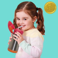 insulated drink bottle - strawberry shake