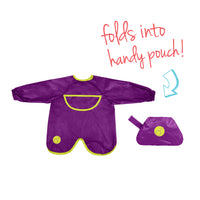 Smock bib - passion splash - b.box for kids