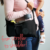 stroller organiser - black - b.box for kids