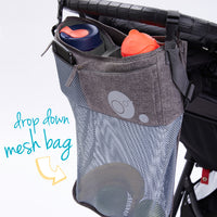 stroller organiser - grey - b.box for kids