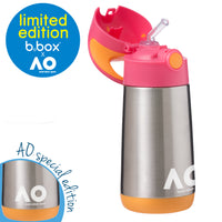 b.box x Australian Open Insulated Drink Bottle - pink