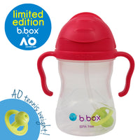 *NEW* b.box x Australian Open Sippy Cup - pink