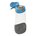 *new* sport spout 600ml bottle - blue slate