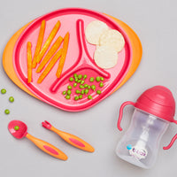 feeding set - strawberry shake - b.box for kids