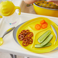 feeding set - lemon sherbet - b.box for kids