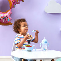 *NEW* Toddler cutlery set - bubblegum