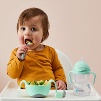 *NEW* Toddler cutlery set - pistachio