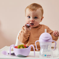 *NEW* Toddler cutlery set - boysenberry
