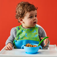 silicone first feeding set - ocean breeze - b.box for kids