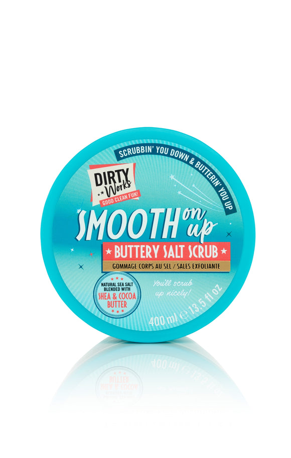 Dirty Works Smooth on up Buttery Salt Scrub 400m