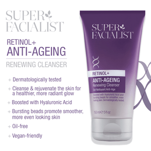 Superfacialist Retinol+ Renewing Cleanser 150ml