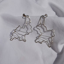Load image into Gallery viewer, Earrings silver abstract