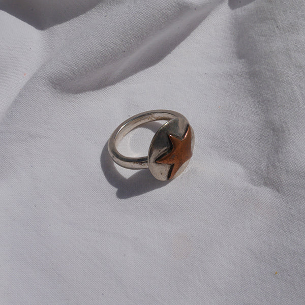 Ring Copper Star