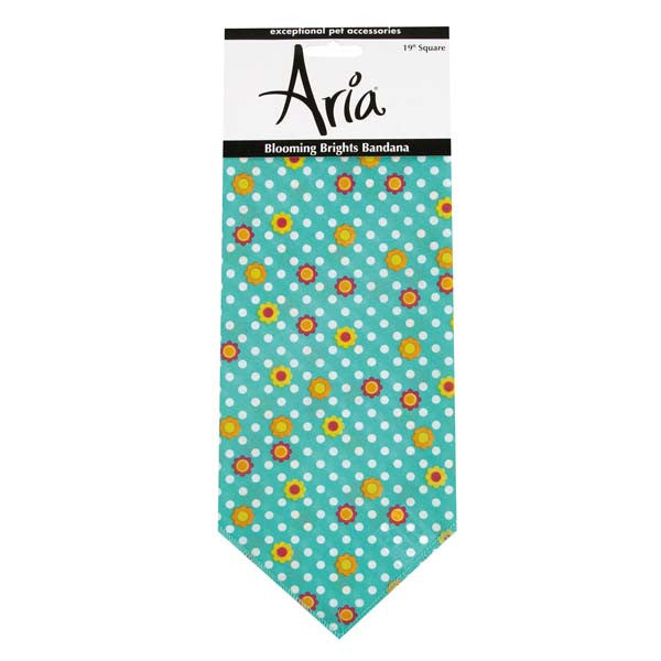 Aria Blooming Brights Tropical Dog Bandana