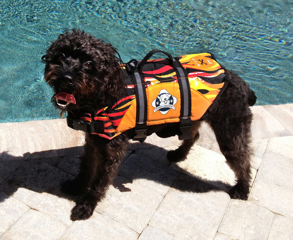 Paws Aboard Flame Doggy Life Jacket