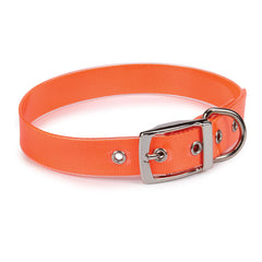 Orange Waterproof Dog Collar