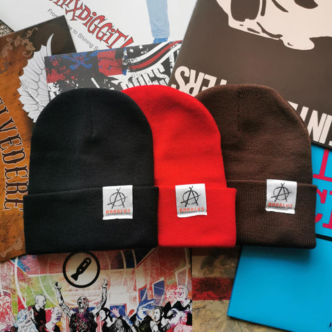 Roll Up Tag Beanie, Beanie - Anarchy Coffee Roasters