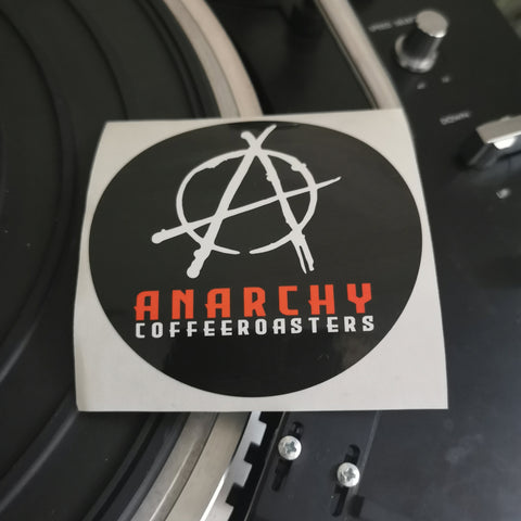"3"" Sticker, Sticker - Anarchy Coffee Roasters"