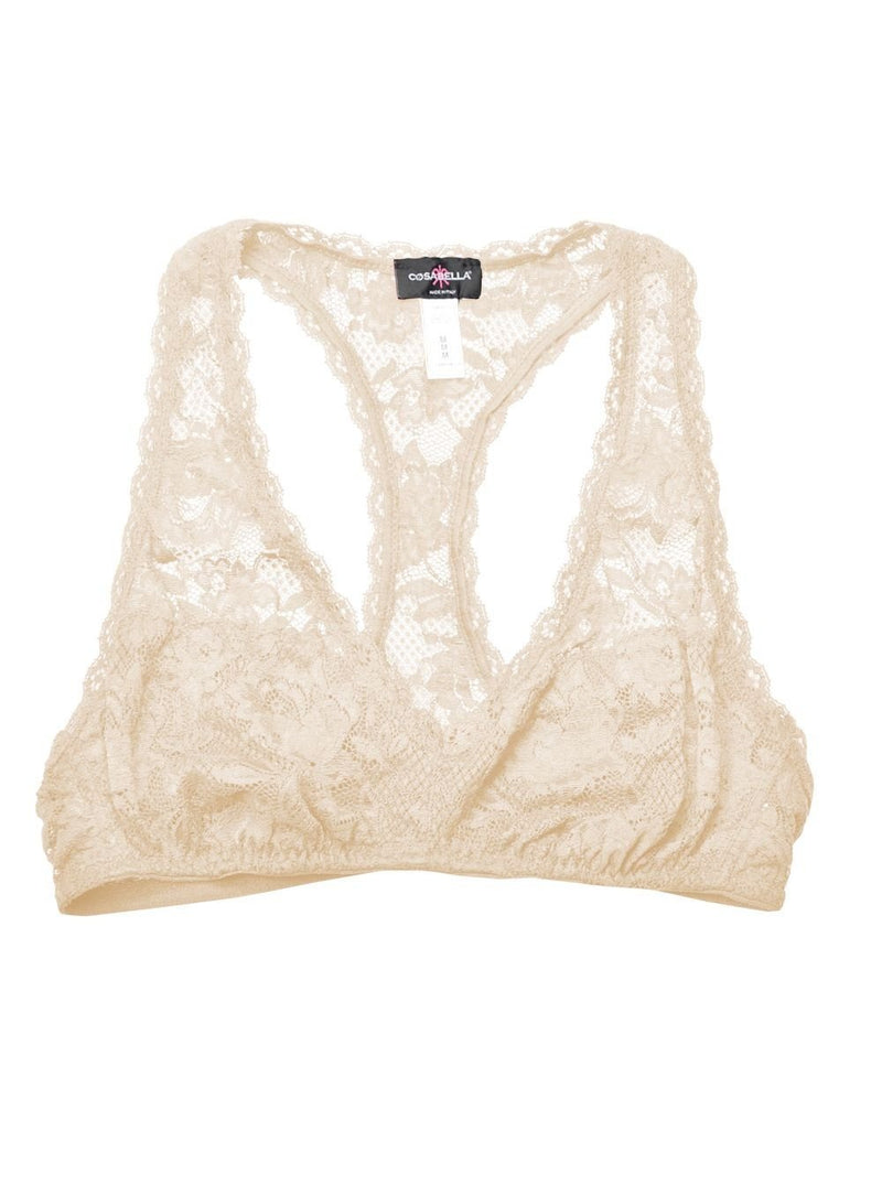 Cosabella NEVER SAY NEVER RACIE RACERBACK BRALETTE - Blush