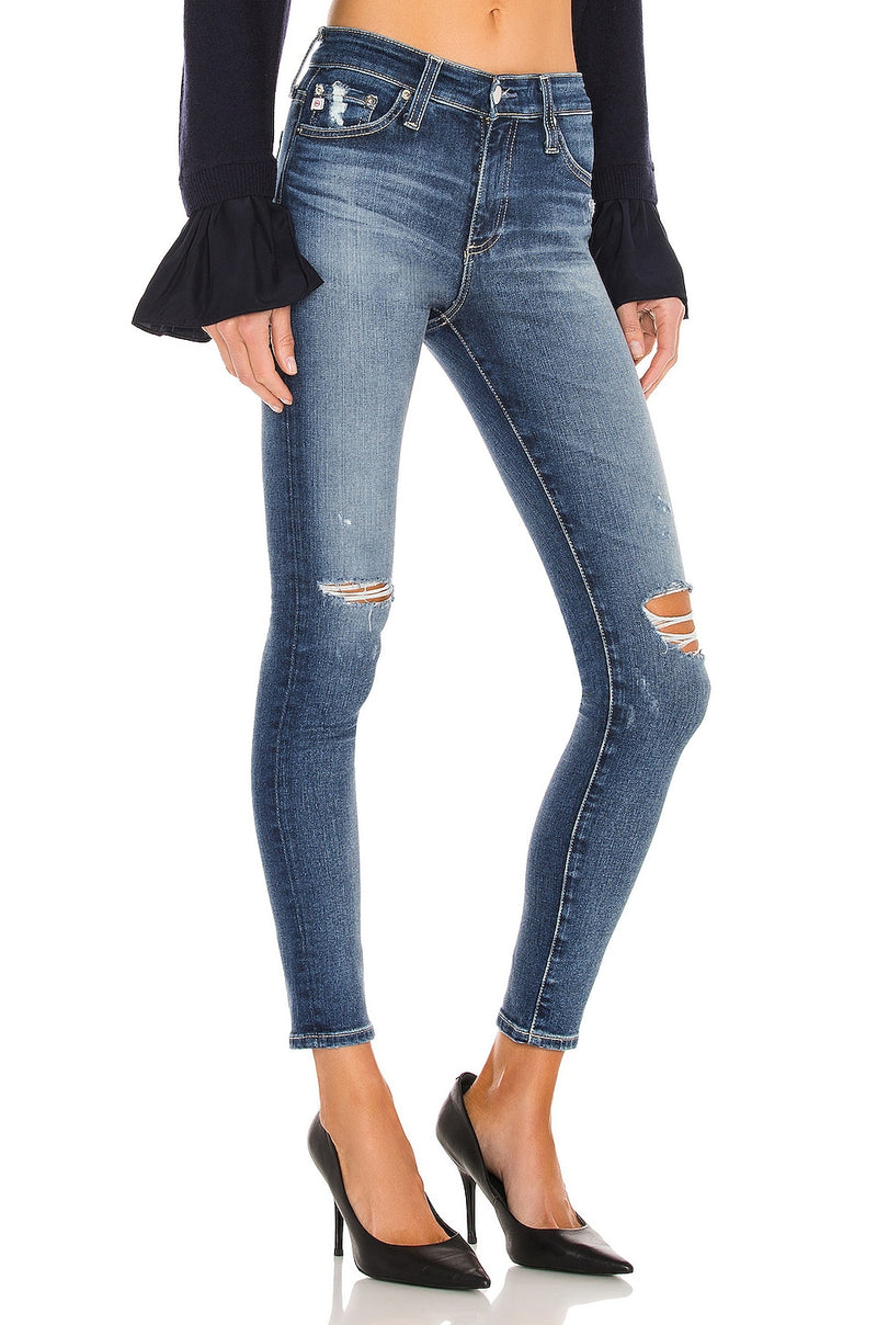 AG Jeans The Farrah Skinny Jeans in 12 Years Cherry Creek