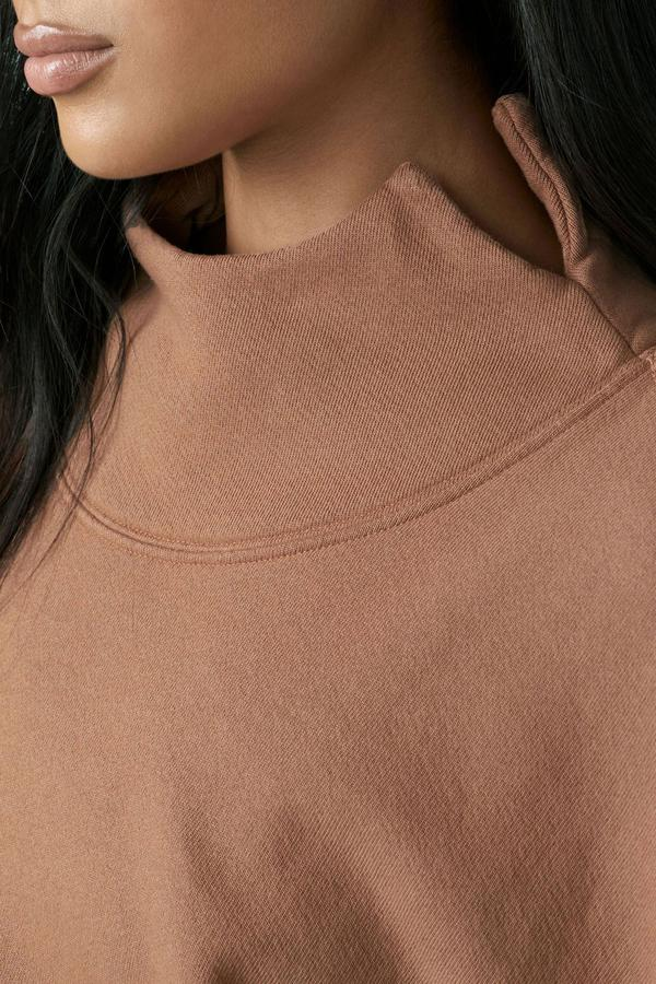 Joah Brown OVERSIZED TURTLENECK SWEATSHIRT
