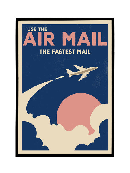 Use The Air Mail Poster