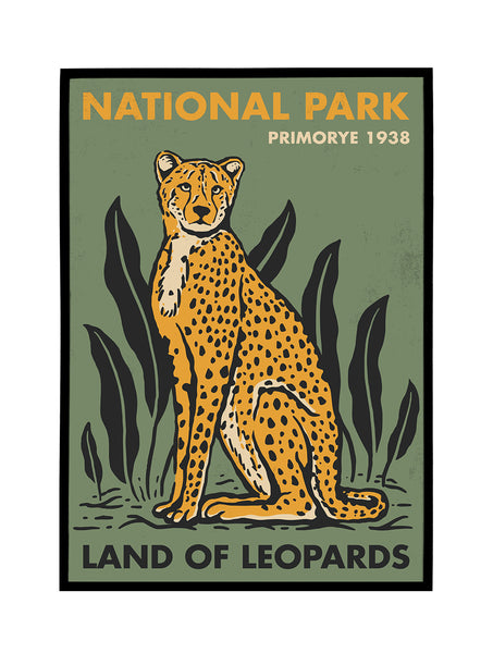 Land of Leopards 1938 Poster