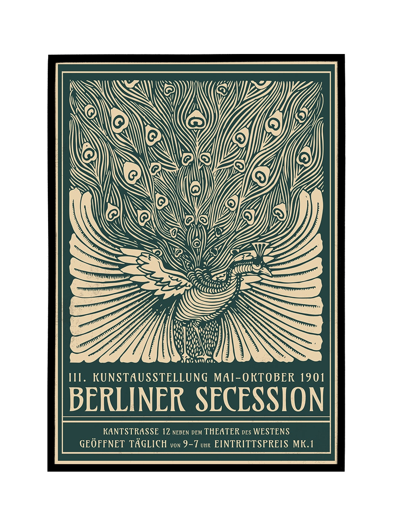 Berliner Secession Ausstellung Poster