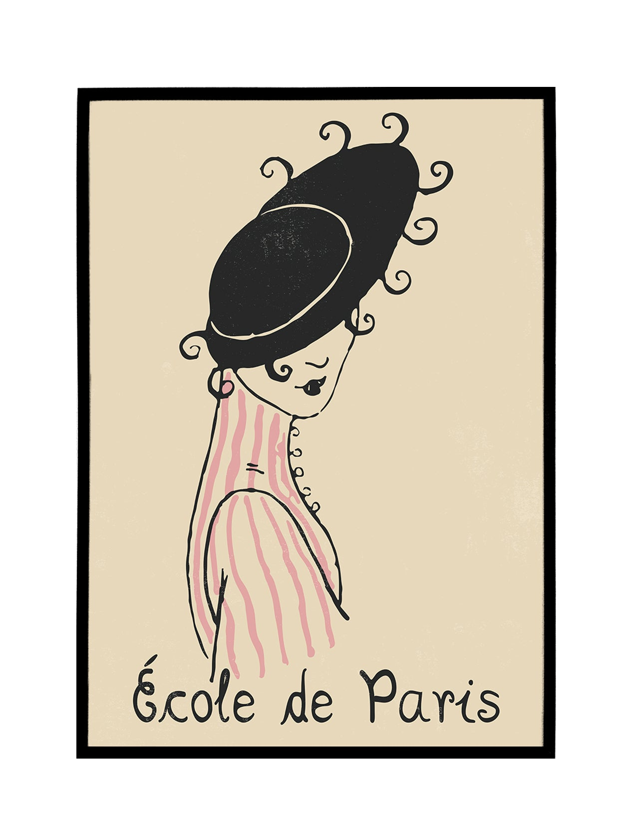 École de Paris No. 1 Poster