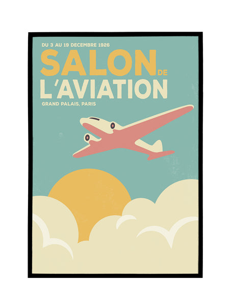 Salon de l'Aviation Poster