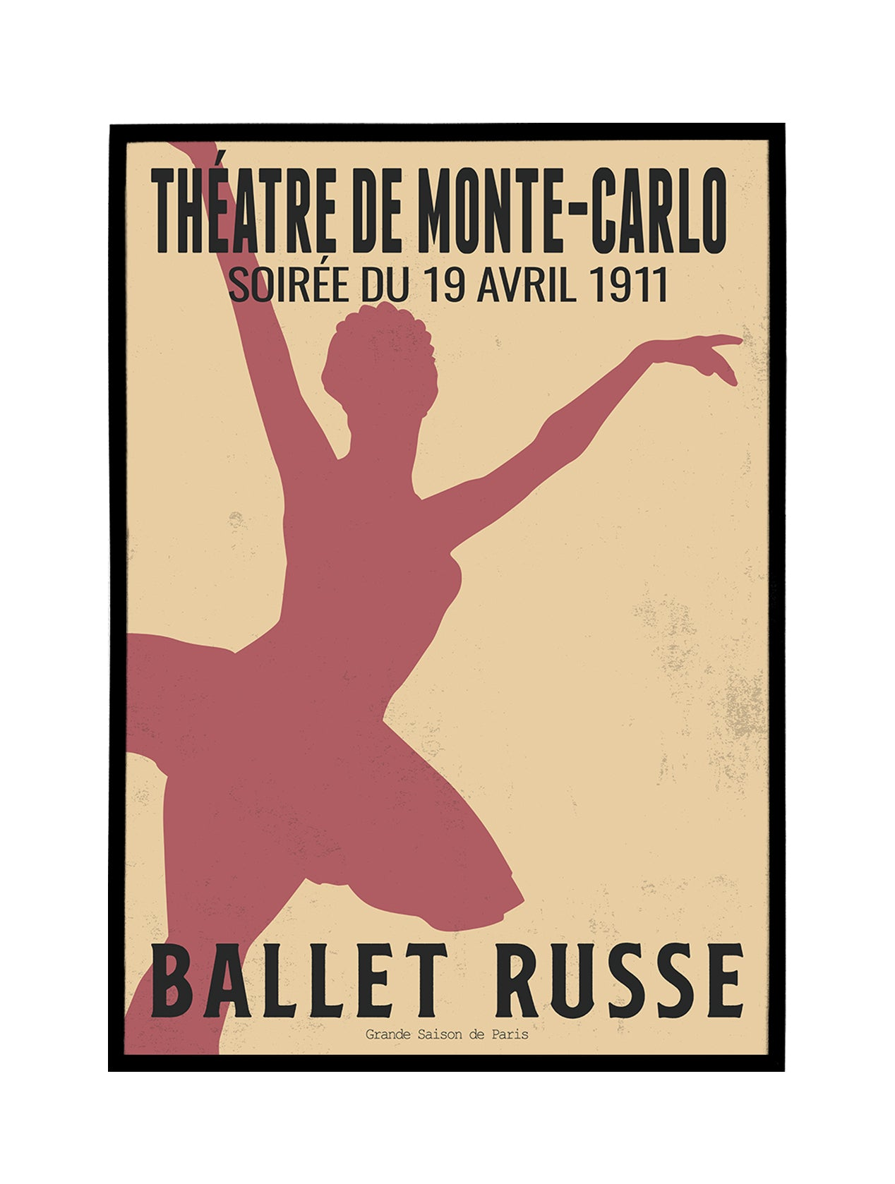 Ballet Russe 1911 Poster