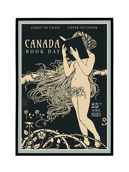 Canada Book Day Poster