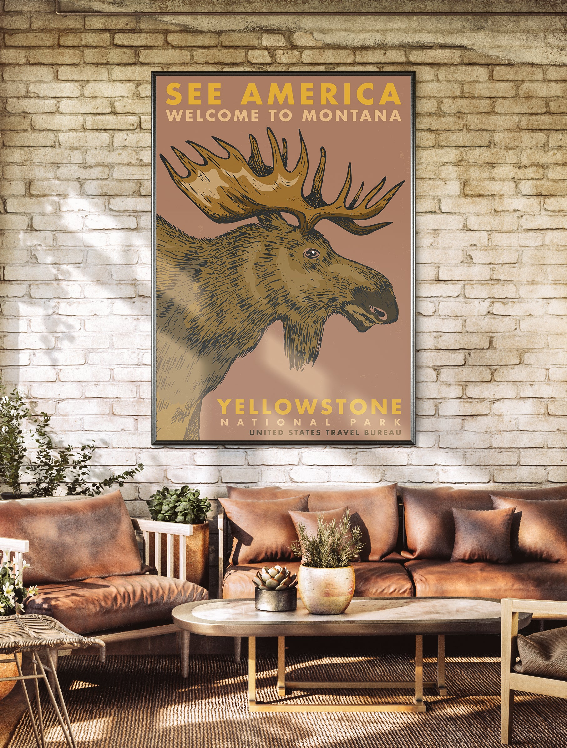 Welcome to Montana Poster