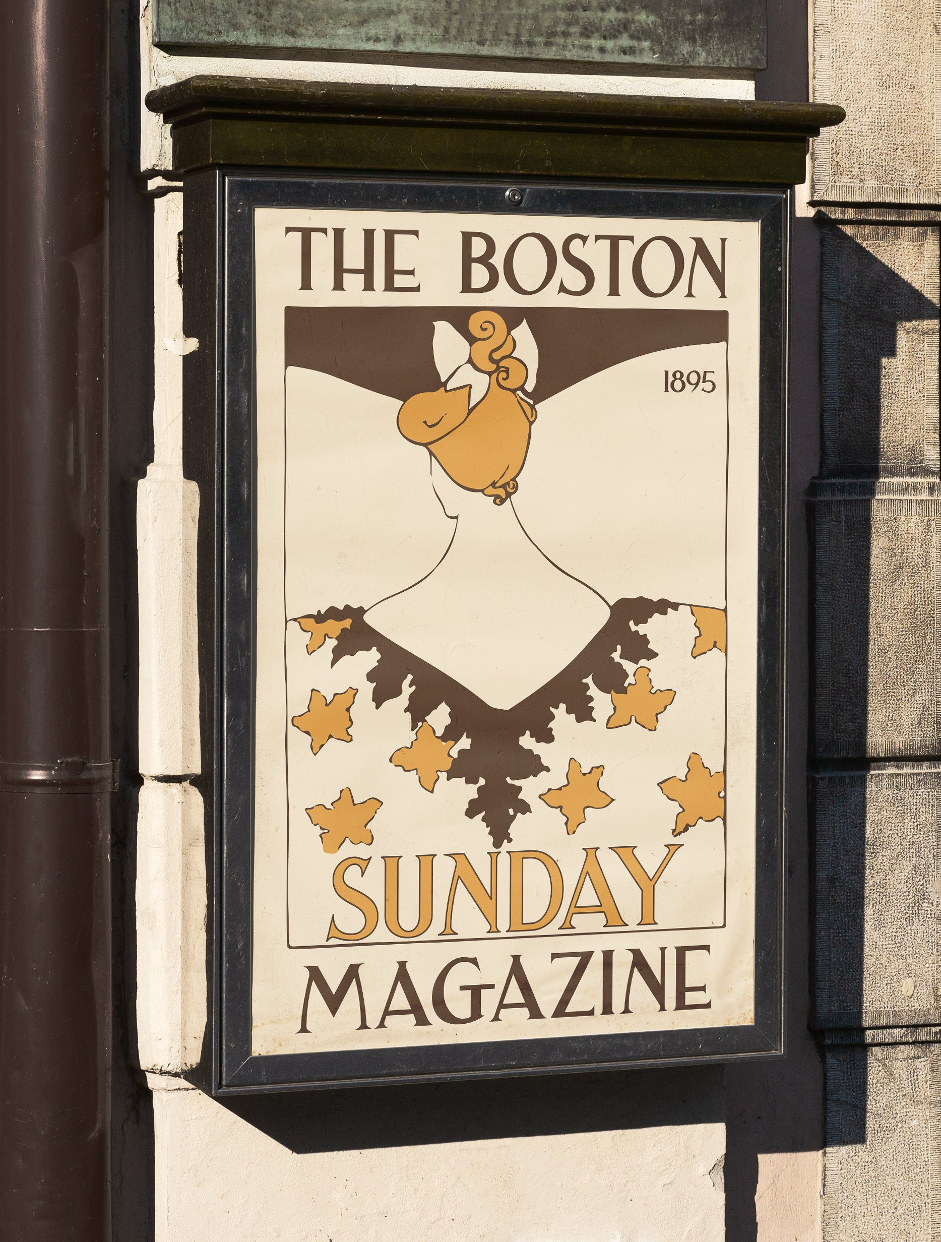 Sunday Magazine 1895 Poster