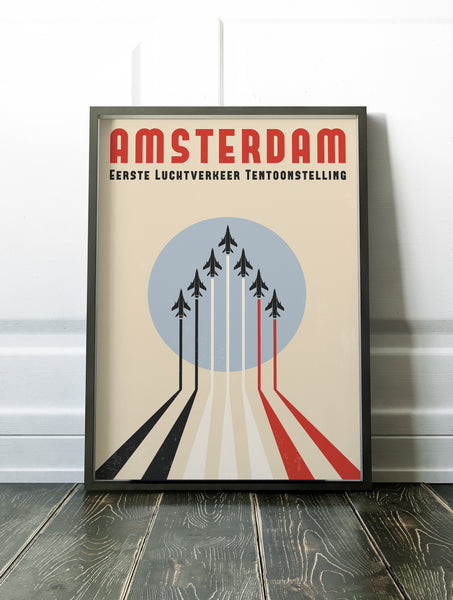 Amsterdam Air Shows Poster