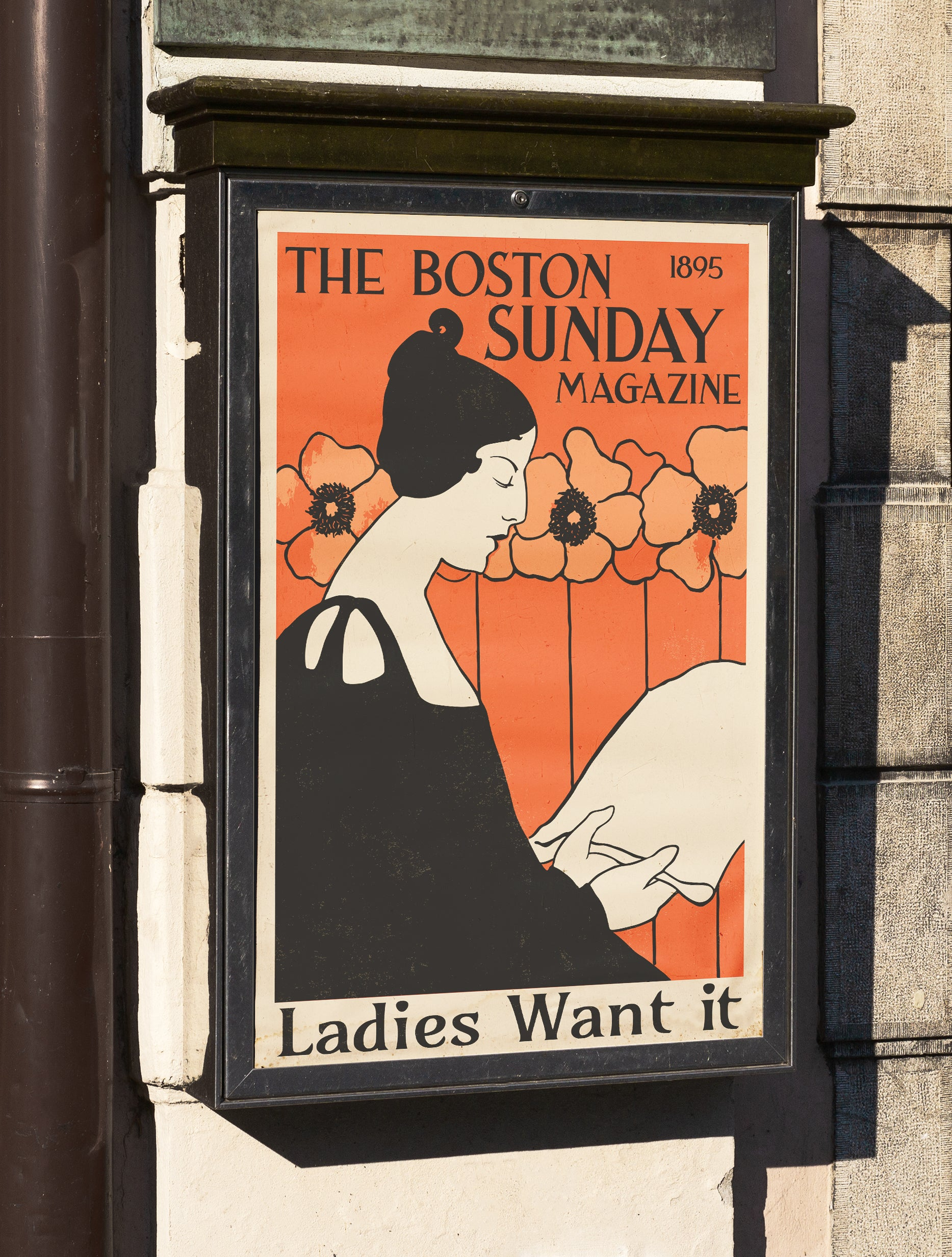 The Boston Sunday Magazine Poster