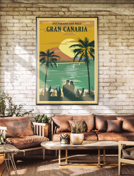 Grand Canaria Poster