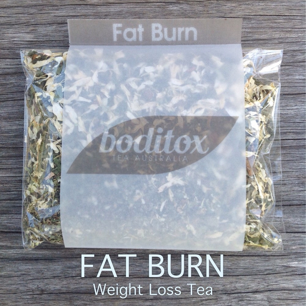 Boditox FAT BURN Organic Weight Loss Tea. Best weight loss teatox to burn fat and lose weight