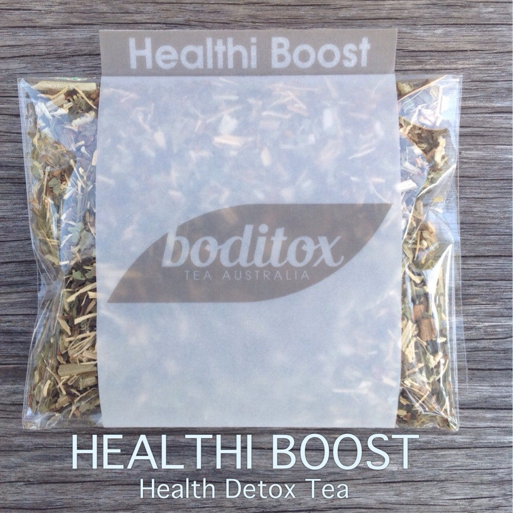 Boditox HEALTHI BOOST Health Detox Tea is the world wide 100% natural and organic health detox tea. Boost your health the natural way