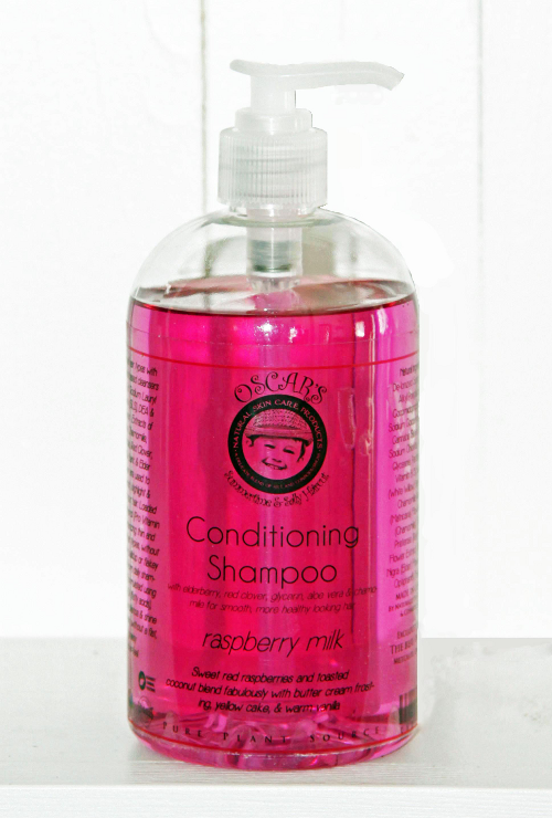 Oscar's Summertime & Sally Hair Cut Conditioning Shampoo
