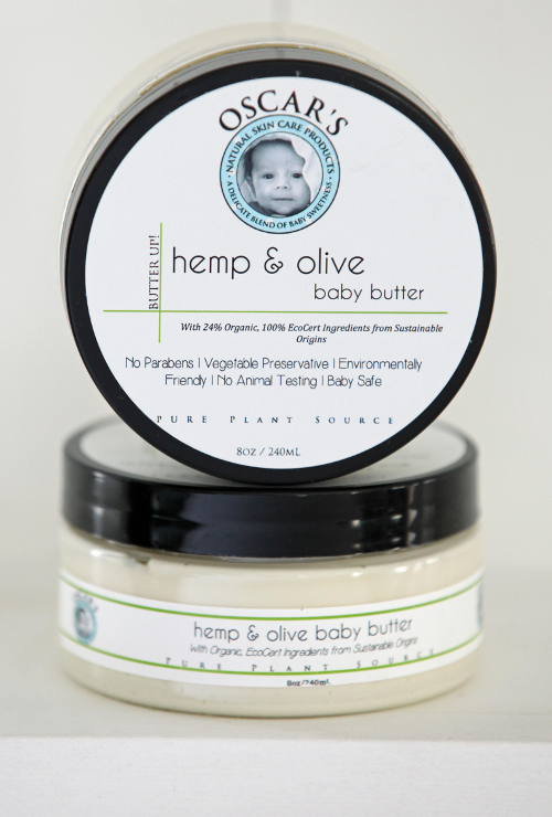 Oscar's Baby Butter Up! Hemp & Olive Baby Butter