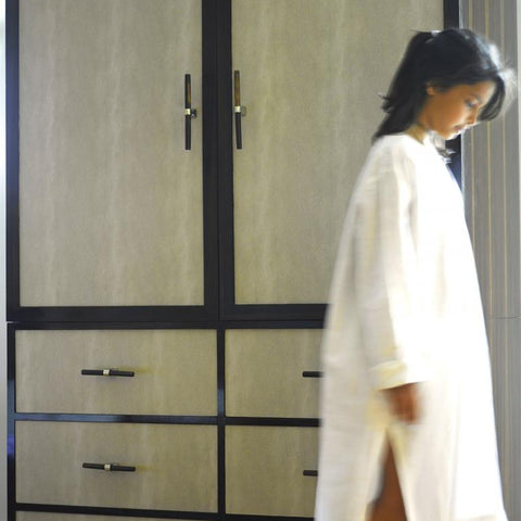 Deco Wardrobe with girl