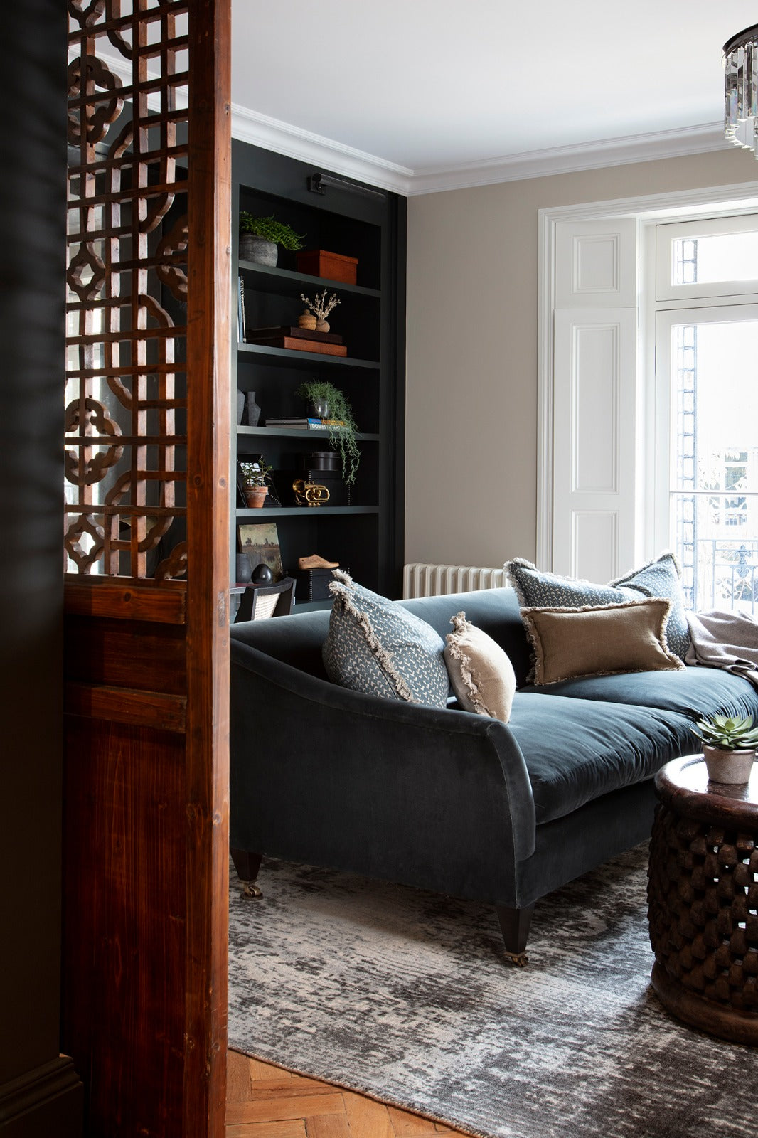 Living room in Notting Hill