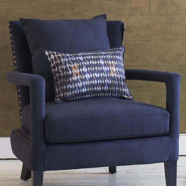 Gemma Cushion with Portobello Armchair and stacking tables
